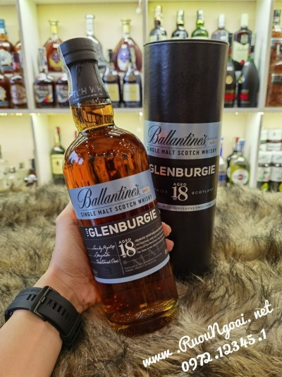 Rượu Ballantine's Glenburgie 18YO Single Marl
