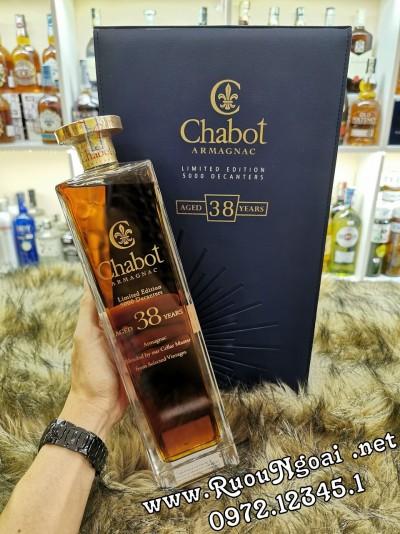 Rượu Chabot 38YO Hộp Da Sang Trọng