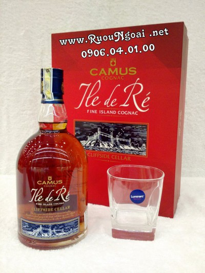 Rượu Camus Ile De Re Cliffside Cellar - Hộp Quà