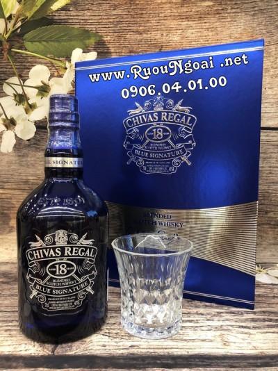 Rượu Chivas 18YO Blue Hộp Quà 2019
