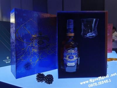 Rượu Chivas 18YO Gold - Hộp Quà 2021