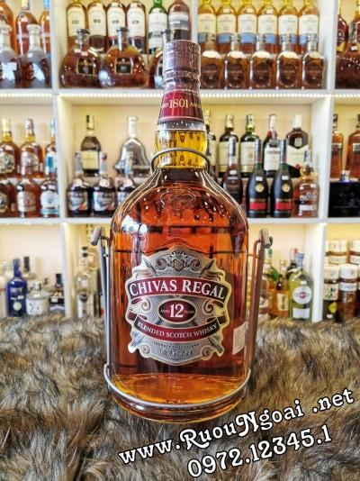 Rượu Chivas 12YO - 4.5L