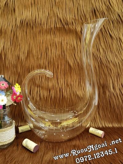 Bình Đựng Rượu Vang - Decanter Dáng Đẹp M07