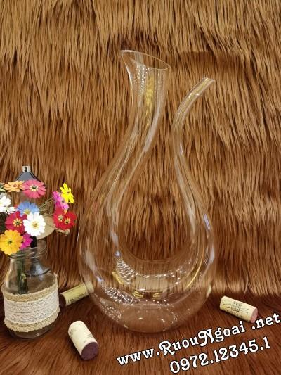 Bình Đựng Rượu Vang - Decanter Dáng Đẹp M24