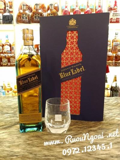Rượu Johnnie Walker Blue Hộp Quà Tết 2021