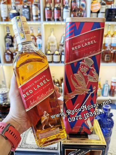 Rượu JW Red Label - Hộp Quà 2020