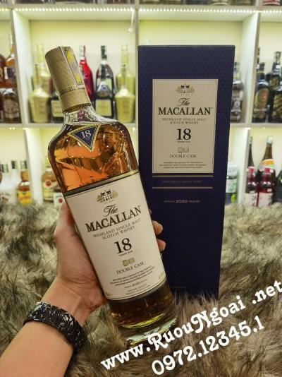 Rượu Macallan 18 Double Cask