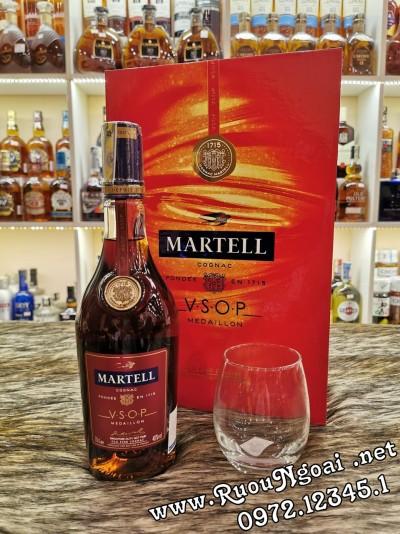 Rượu Martell VSOP - Hộp Quà