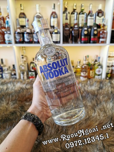 Rượu Vodka Absolut Classic