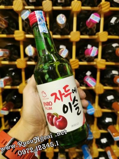 Rượu Soju Jinro Vị Trái Mận