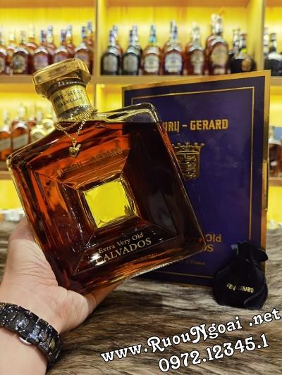 Rượu Calvados Henry Gerard Extra Very Old