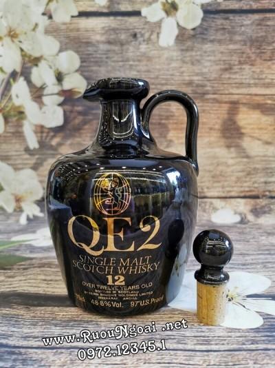Rượu QE2 Highland Malt 12 Năm