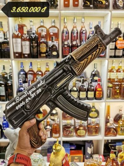 Rượu Brandy XO Súng Ak47