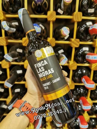 Rượu Vang Finca Las Moras Black Laber