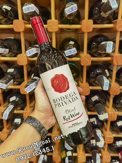 Rượu vang Argentina Bodega Privada