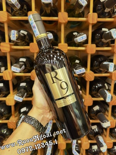 Rượu Vang Ý R9 Primitivo