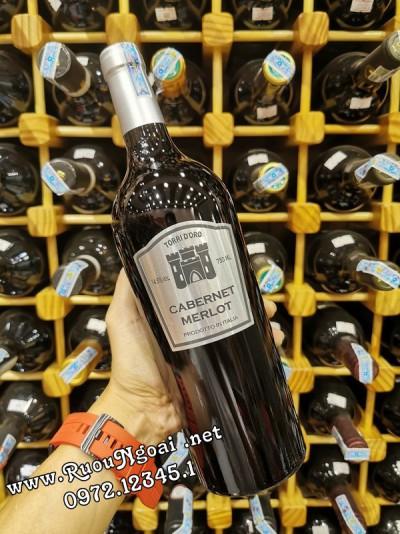 Rượu Vang Ý Torri D'oro Cabernet & Merlot