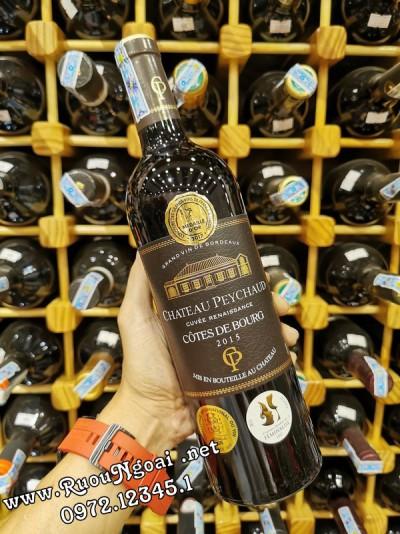 Rượu vang Chateau Peychaud Cotes De Bourg
