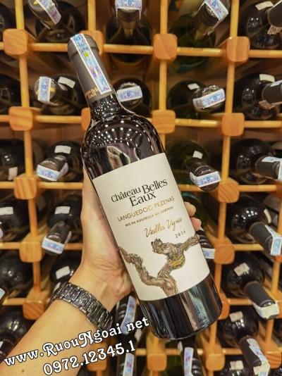 Rượu vang Chateau Belles Eaux 2016