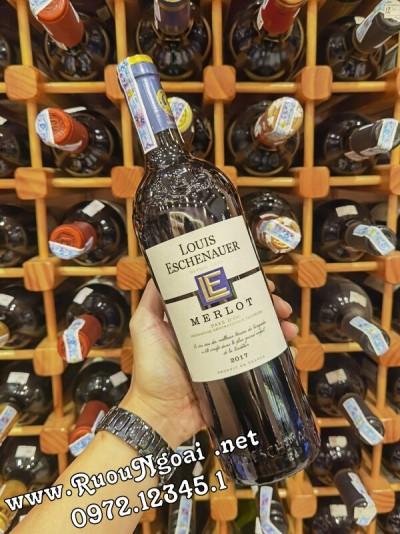 Rượu Vang Pháp Louis Eschenaner Merlot