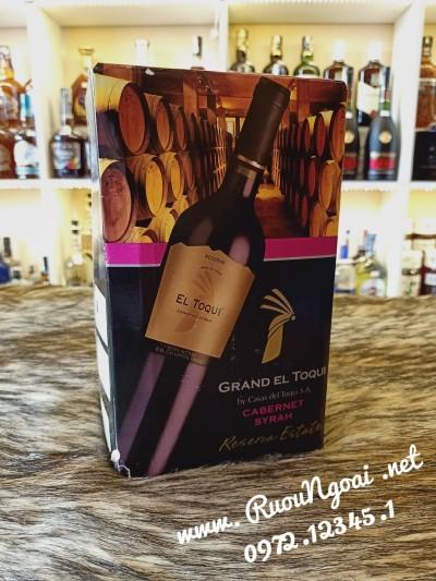 Rượu Vang Chile El Toqui Cabernet Syrah