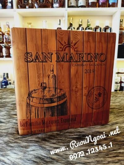 Rượu Vang Hộp San Marino 5L Ngon