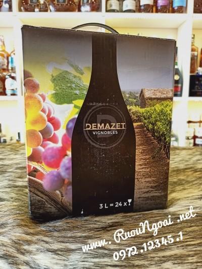 Rượu Vang Pháp Demazet VIGNOBLES 3L