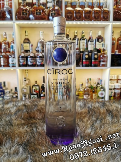 Rượu Vodka Ciroc 1750ml