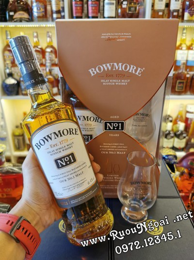 Rượu Bowmore No1 - Hộp Quà