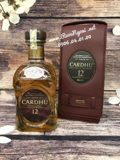 Rượu Whisky Cardhu 12YO