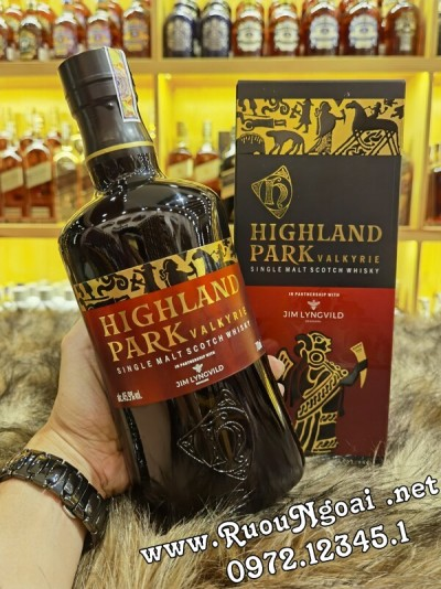 Rượu Highland Park Valkyrie