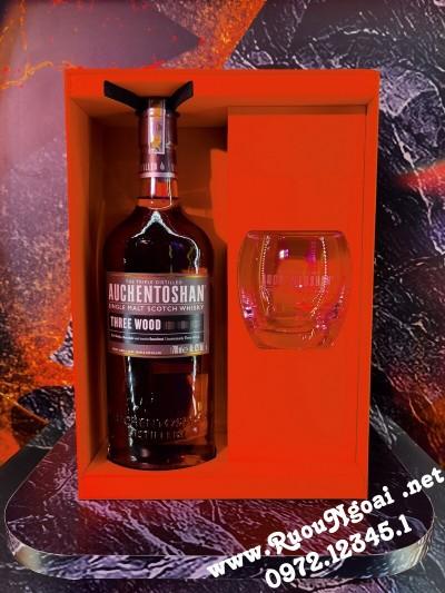 Rượu Auchentoshan Hộp Quà 2021